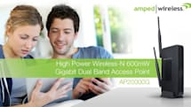 Amped Wireless adds a dual-band access point to its range of super-strength networking gear