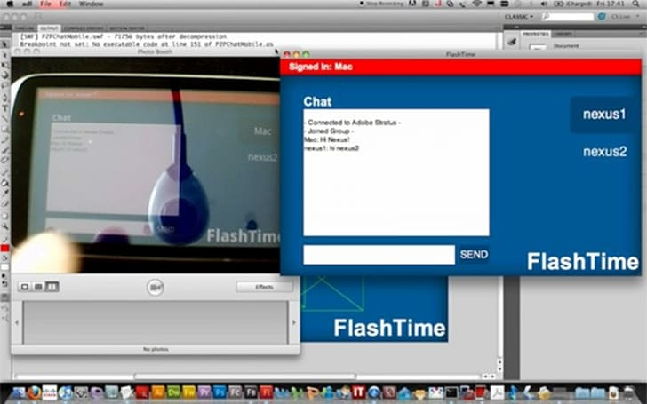 Adobe FlashTime to bring peer-to-peer video calls to Android (video)