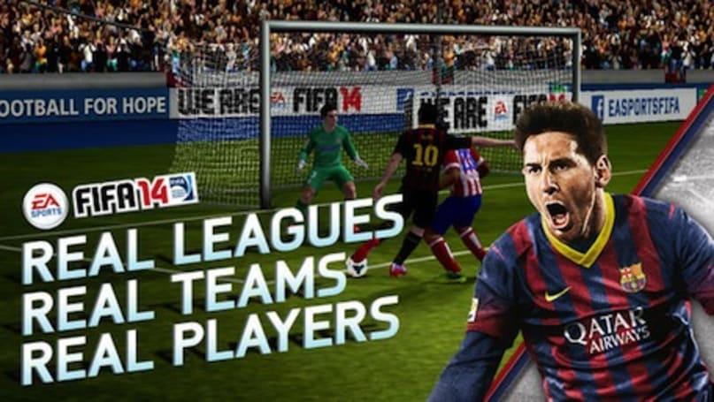 FIFA 14 arrives on iOS, goes freemium
