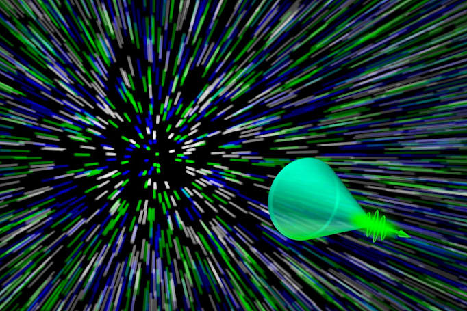 Super-fast camera records light-based 'sonic booms'