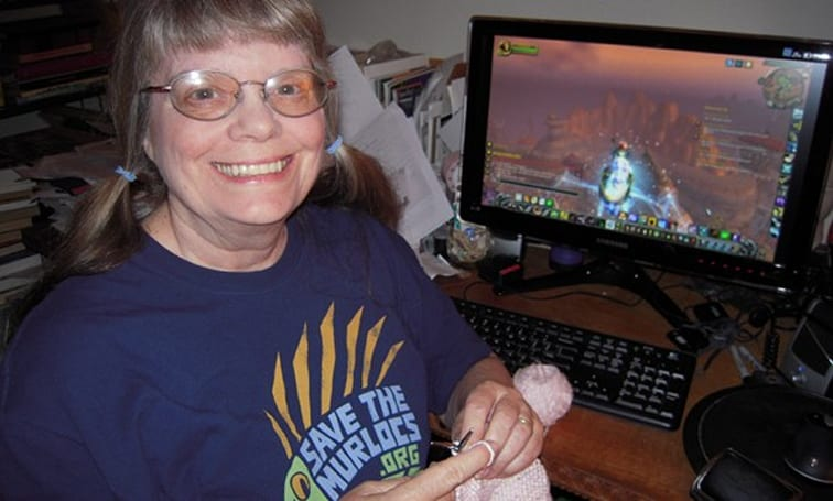 15 Minutes of Fame: Knitting together a gaming life
