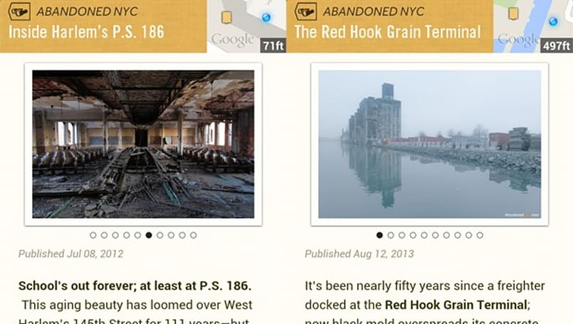 Google and Abandoned NYC uncover the city's secrets with Field Trip app