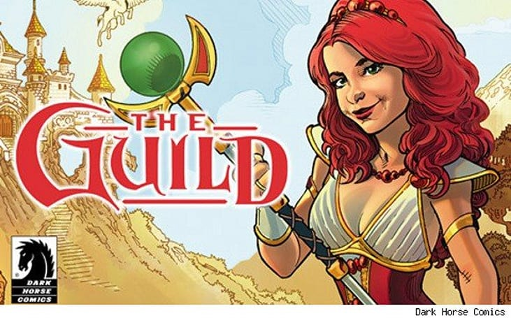 The Guild comic: There's an app for that