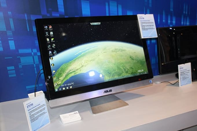 Asus reveals ET2700 all-in-one desktop, lets you get touchy-feely with all ten digits (video)