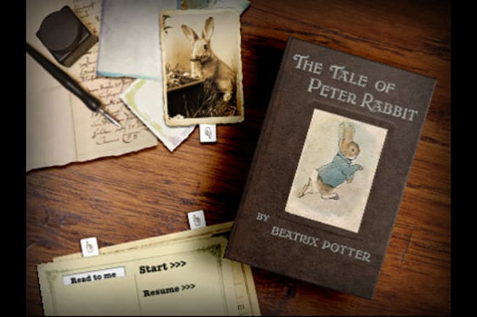 PopOut! The Tale of Peter Rabbit raises the bar for interactive children's books
