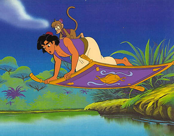Prototype magic carpet uses electrified threads to 'fly,' Aladdin pre-orders (video)