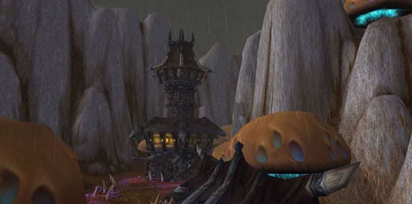 5 creepy Kalimdor lairs for roleplaying villains