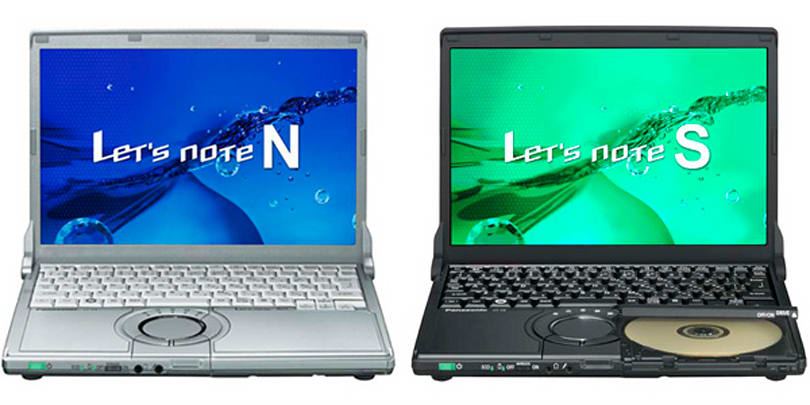 Panasonic adds Windows 7 to laptop line, unveils Let's Note N8 and S8