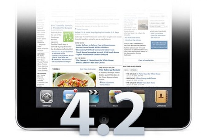 New HTML5 and web standards support in iOS 4.2