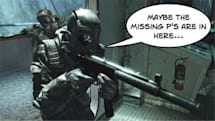Modern Warfare 2, Halo 3: ODST are both not-quite HD games