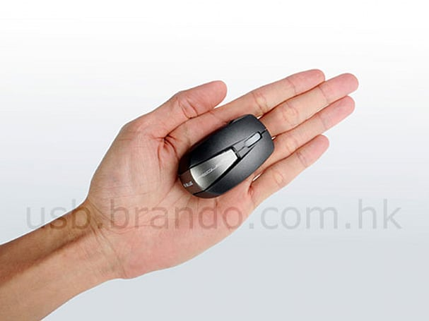"Brando offers world's smallest wireless mouse, ""probably"""