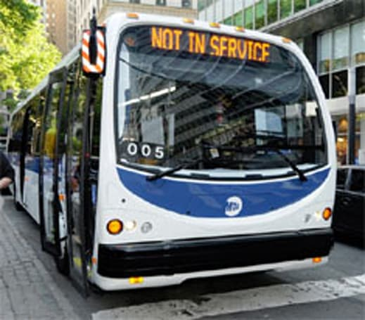DesignLine turbine hybrid buses take off in NYC, could multiply soon