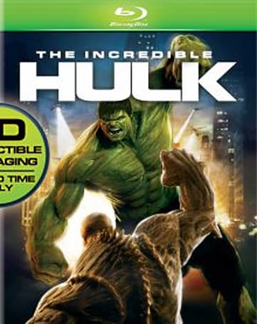The Incredible Hulk Blu-ray brings Green Ray, BD-Live October 21