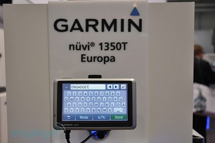 Garmin n�vi 1200 and 1300 hands-on