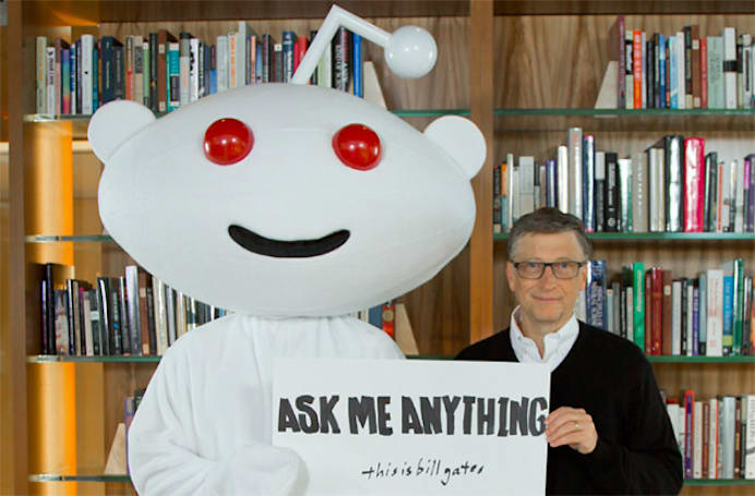 Bill Gates weighs in on the new Microsoft, philanthropy and leaping over chairs