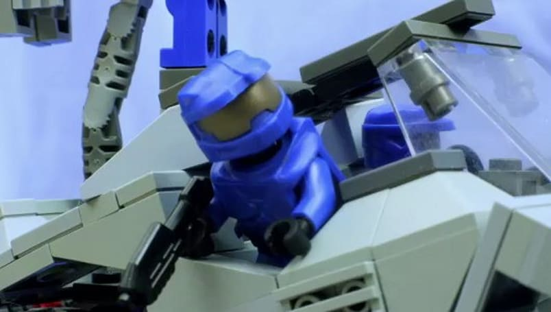 Battle of the Brick is a Halo-inspired stop-motion epic