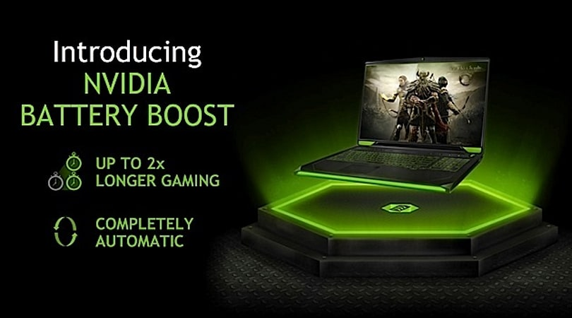 NVIDIA says most laptops die after 50 minutes of gaming, claims new GPUs will double stamina