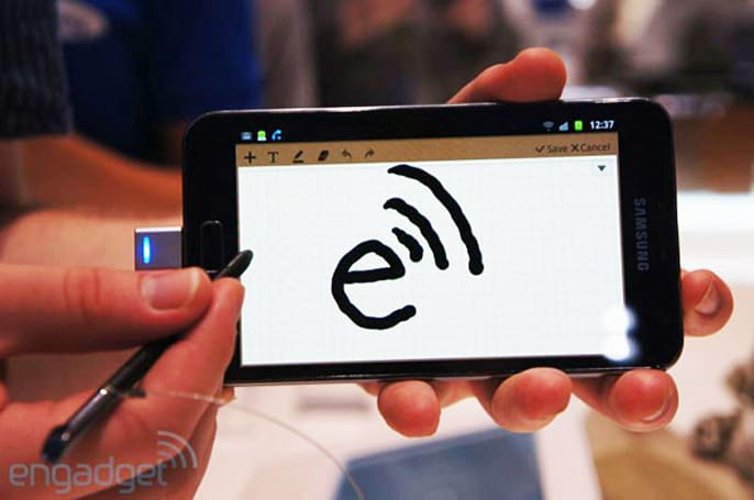 Android Ice Cream Sandwich includes native stylus support