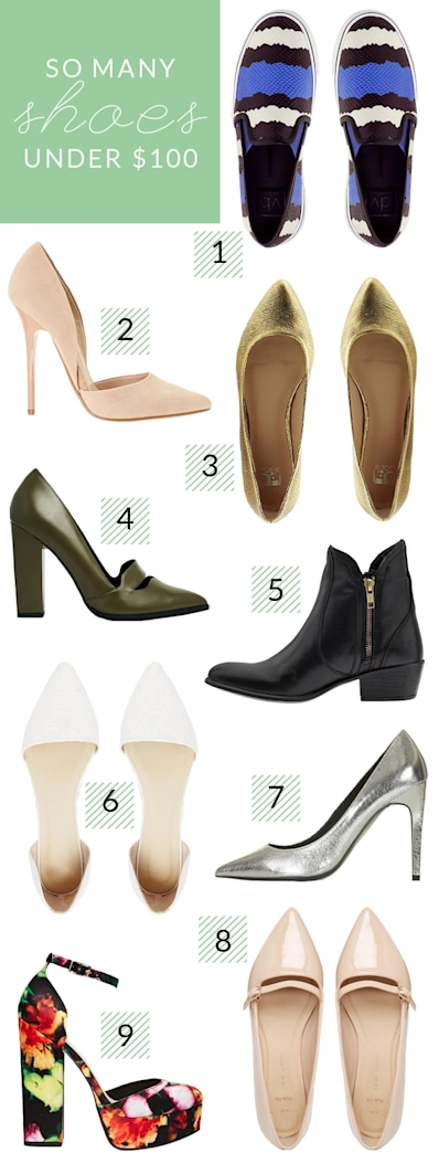 Our favorite shoe finds under $100