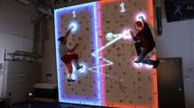 Kletter-Pong: Das anstrengendste Videospiel der Welt?