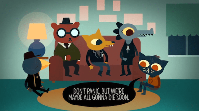 Night in the Woods' snappy dialogue inspired by Twitter