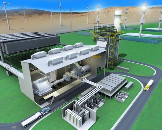 GE announces hybrid power plant of the (near) future