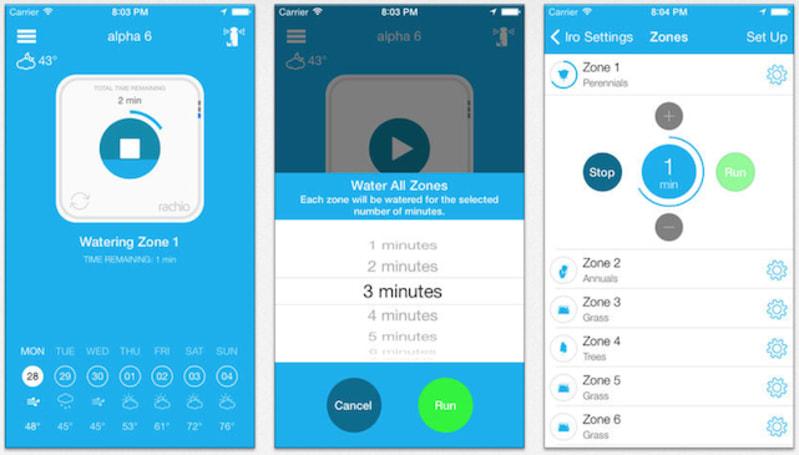 Rachio's Iro: iOS-controlled lawn sprinkler controller