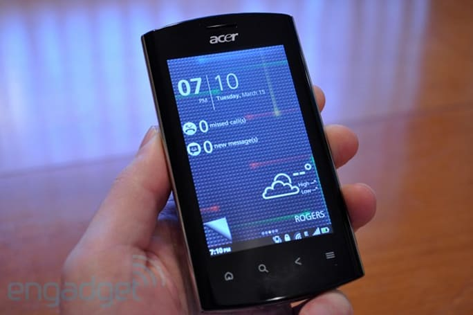 Acer Liquid mt review