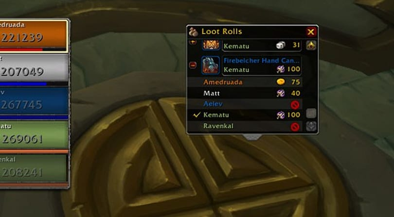 Mists of Pandaria Beta: New loot frames roll into view