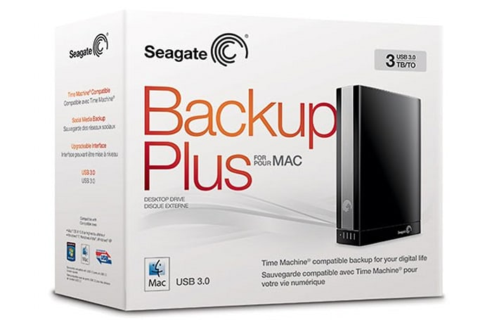 Seagate Backup Plus brings USB 3.0 speed, sociability to new Macbooks