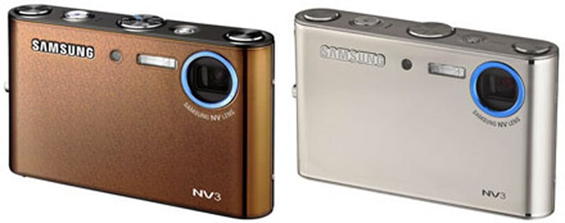 """Samsung NV3, now in gold (""""OPL"""") and silver"""