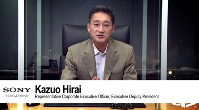 Kaz Hirai drops some titles at Sony, still president