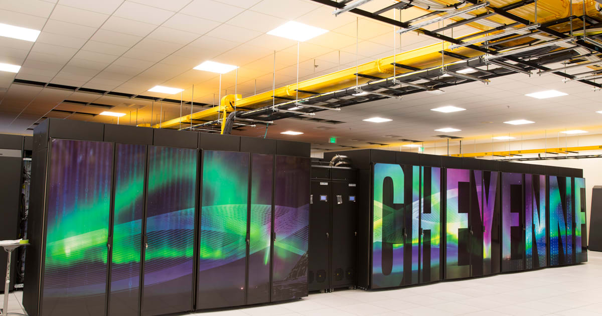 A Supercomputer in Coal Country is Analyzing Climate Change