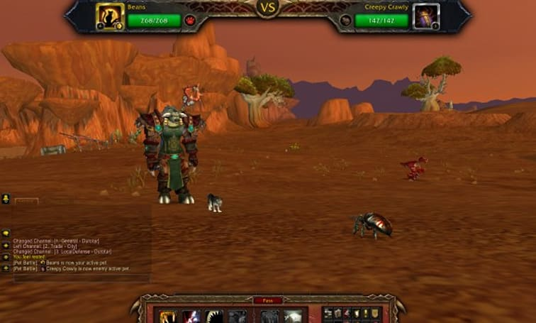 Mists of Pandaria Beta: Transferring wealth between servers with battle pets?