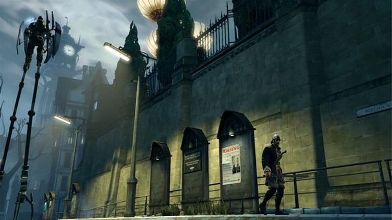 Corvo, guv'nor! Dishonored also playable for free this weekened