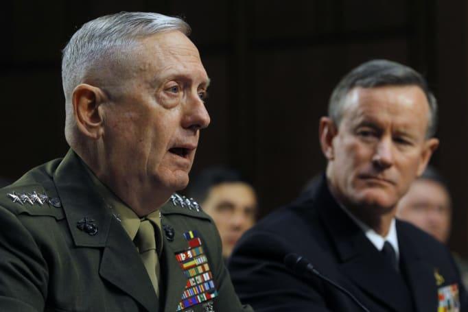 Trump defense secretary pick serves on Theranos' board