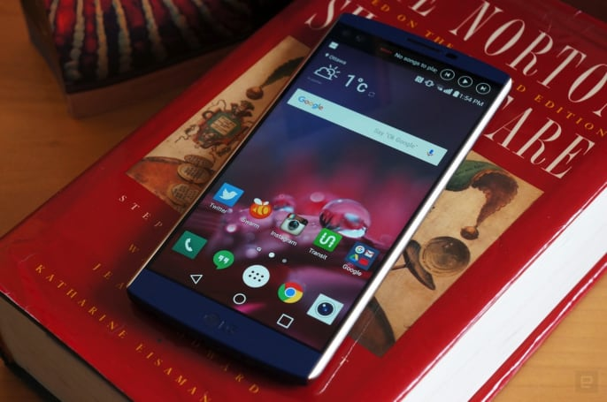 LG's V20 will be the first Android Nougat smartphone