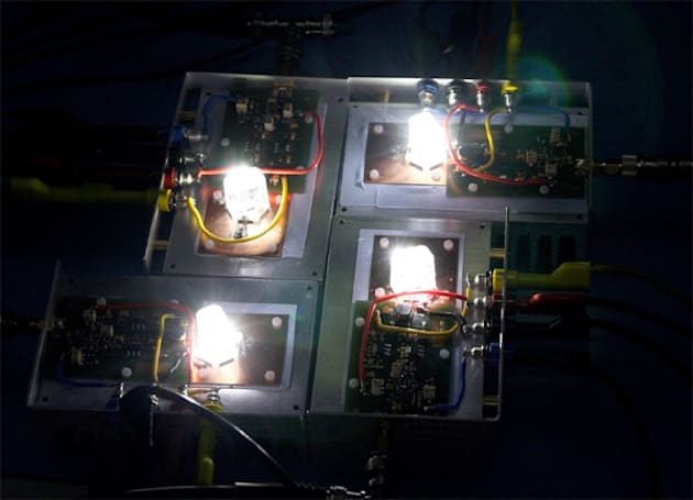 Another optical wireless experiment shows us that LEDs will beam your future downloads
