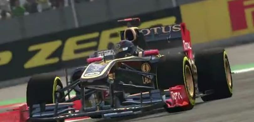 F1 2011 turns and burns out its first gameplay trailer