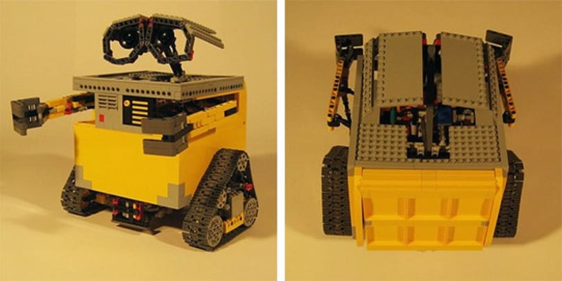 Transformable Wall-E gets recreated with some love, Lego and DIY skills (video)