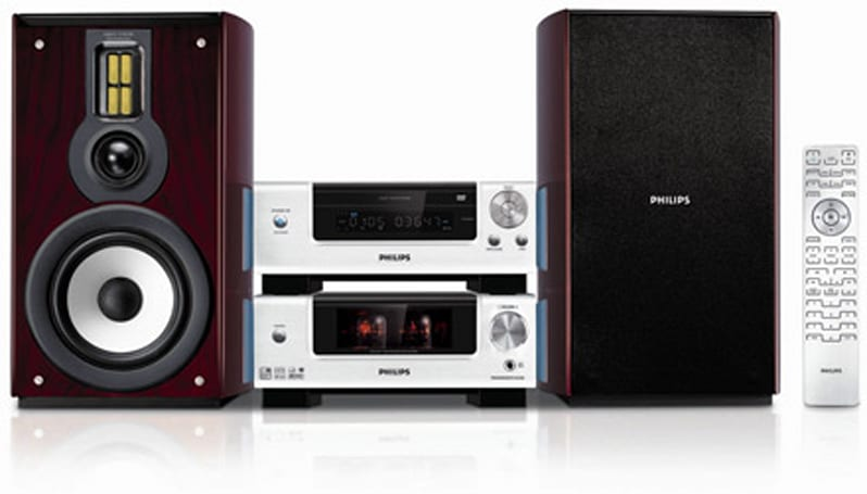 Philips DVD Micro Theatre with tube amp!