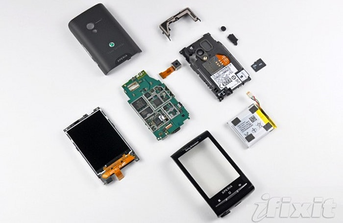 Sony Ericsson X10 Mini teardown reveals densely packed, tiny hardware