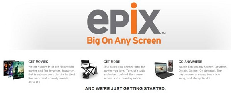 EpixHD celebrates today's FiOS launch with weekend movie streaming passes for all