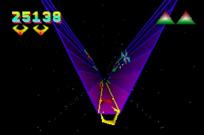 TxK, Jeff Minter's remake of Tempest 2000, on PS Vita this year