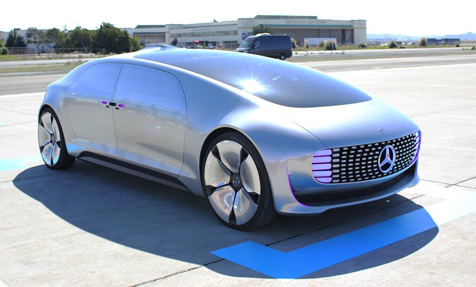 Riding In Mercedes Luxurious Self Driving Car Of The Future
