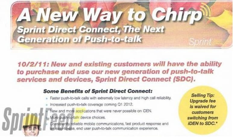 Sprint to launch Direct Connect October 2nd, confirms mobile hotspot capping