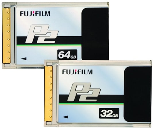 Fujifilm introduces E-Series P2 memory cards at NAB