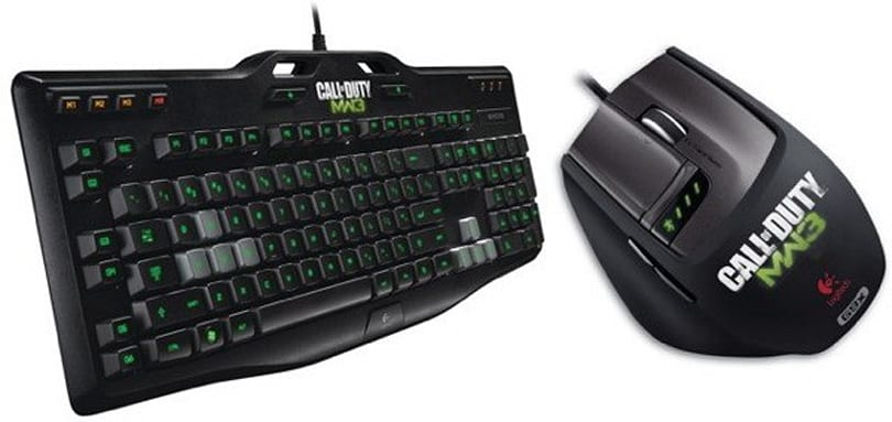 Logitech release MW3 gaming mouse and keyboard, for people who can't get enough Soap