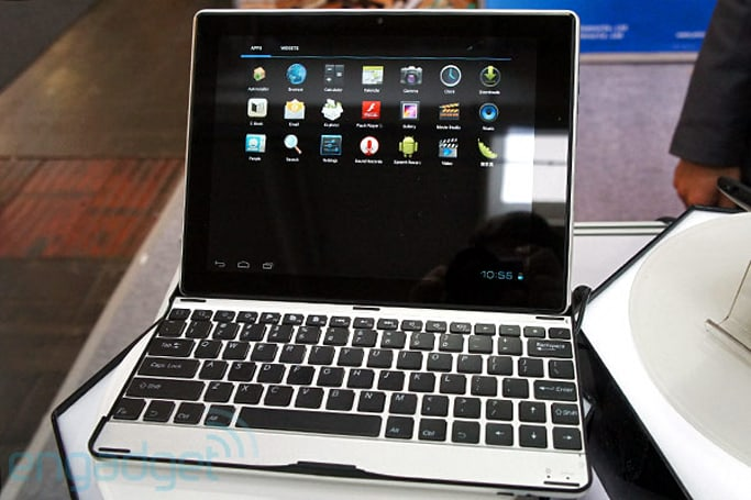 Yitoa M9704 9.7-inch ICS tablet has a keyboard that doubles as a case, we go hands-on (video)