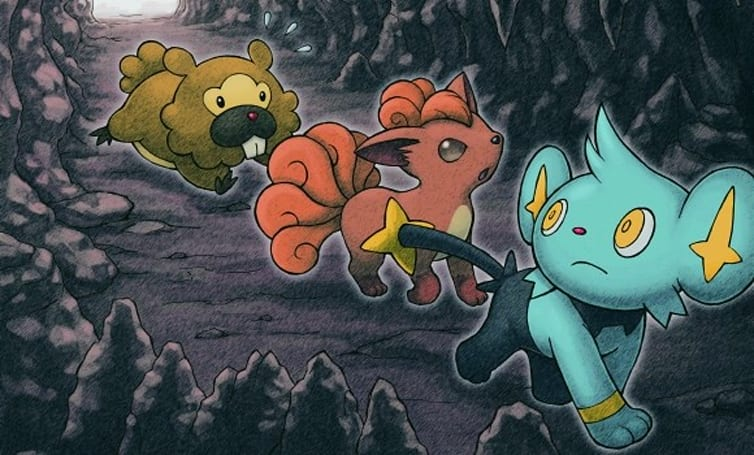 Explore the latest Pokemon Mystery Dungeon this October